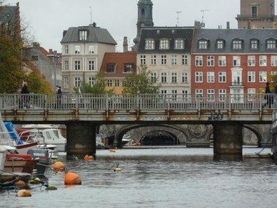 Low bridges on Fredericksholms Kanal