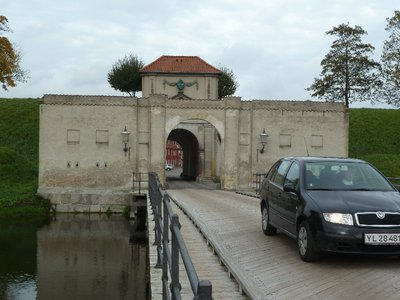 The entrance over the most into the Kastellet