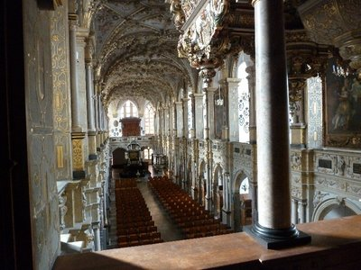 The Chapel inside Frederiksborg Slot