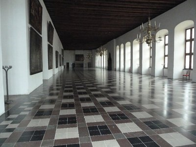 The Great Hall of Kronberg Slot