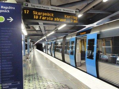 The Stockholm Meto (Tunnelbana)