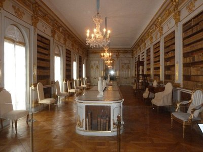 The Library in Drottningholm Palace