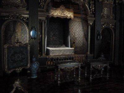 Hedvig Eleonora's State Bedchamber at Drottningholm Palace