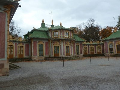 The Chinese Pavilion in the grounds of Drottningholm Palace