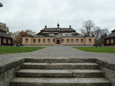 Swedish Manor House in the Open Air Museum at Skansen