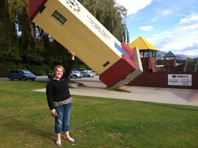 The Leaning Tower at Puzzling World just outside Wanaka