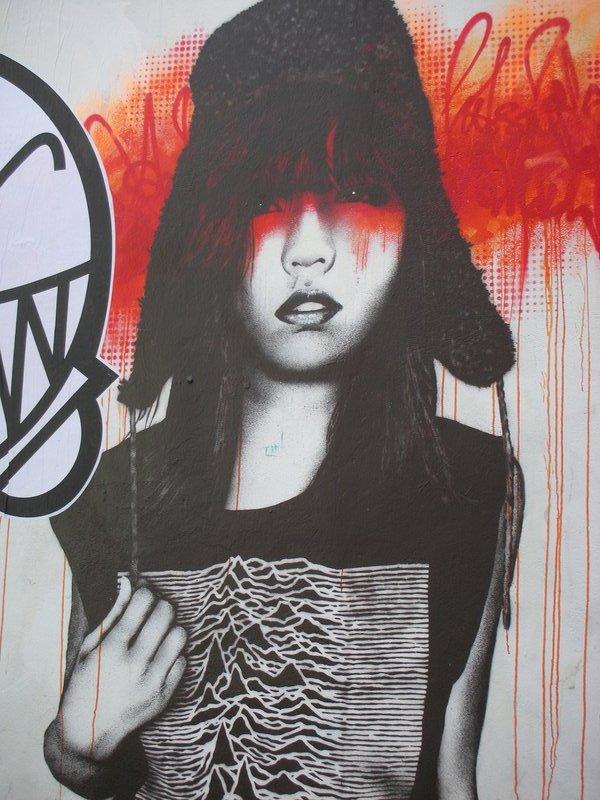 Brick Lane in East London - Street Art
