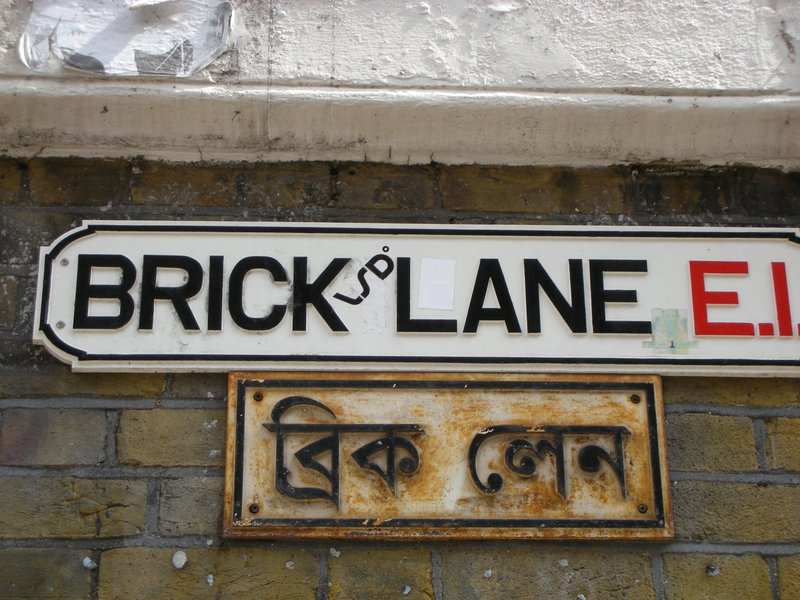 Brick Lane in East London