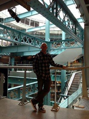 Inside Guinness Storehouse