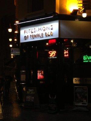 Fitzsimons Pub in Temple Bar