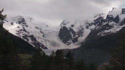 Bernina Express - Morteratsch Glacier