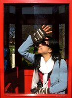 Trapped in phone booth in New Zealand :)