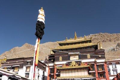 Ta Shi Lhun Po Monastry Shegatse Tibet