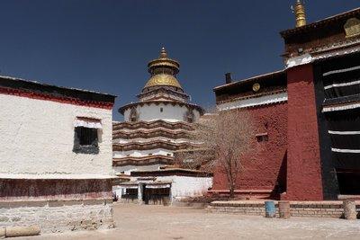 Gyantse Tibet Kumbum-Stupa