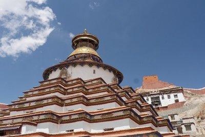 Gyantse Tibet (Kumbum-Stupa)