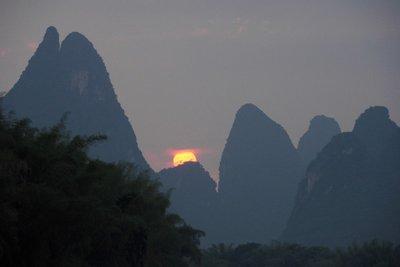 Kars gebergte Yangshuo