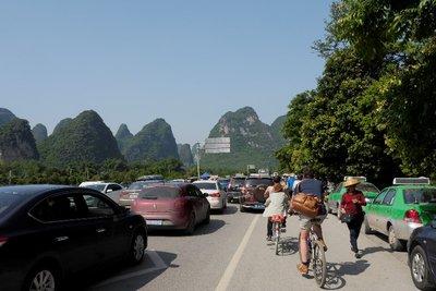 Fietsuitstap Yangshuo