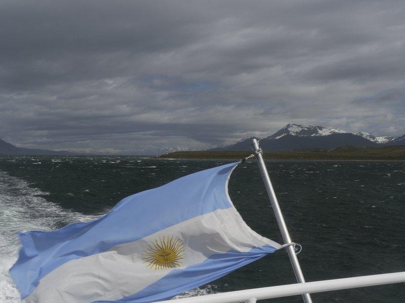 Argentinië Ushuia, Canal Beagle