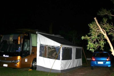 MOTORHOME @ night