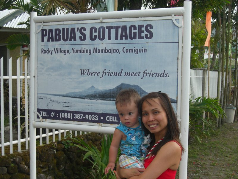 At Pabua's Cottages - Camiguin Island