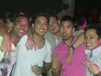 With the Homies at Lure