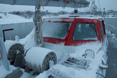 Winter arrives on Pelagic