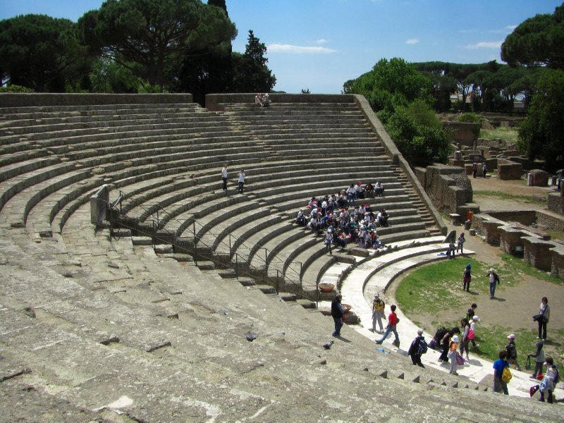 The Theater at Ostia Antica