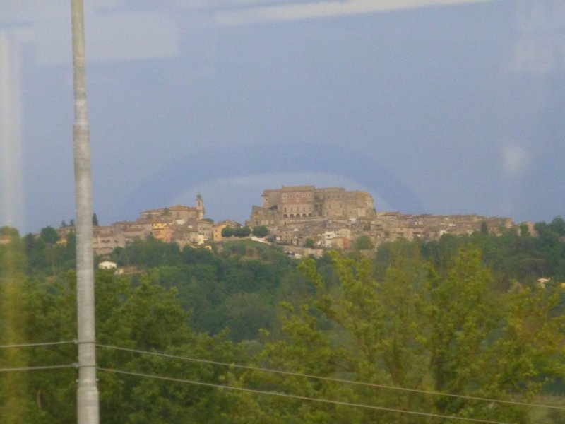Hilltop towns dot the Umbrian landscape