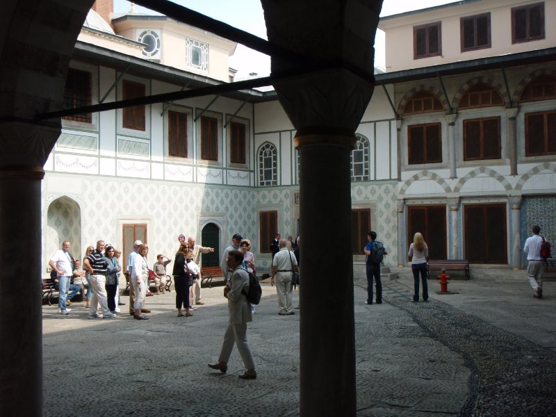 Courtyard of the Sultan Valide