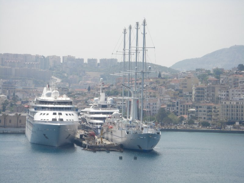 The port of Kusadasi