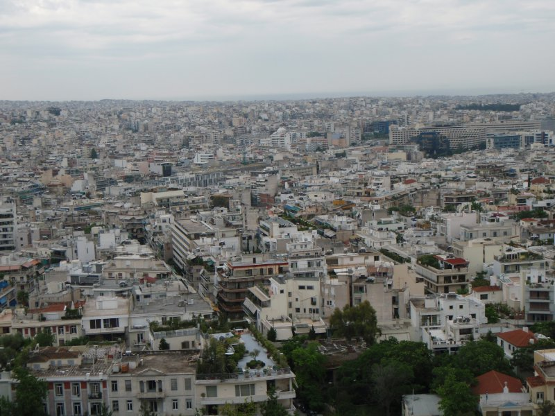 The City of Athens, from the Acropolis
