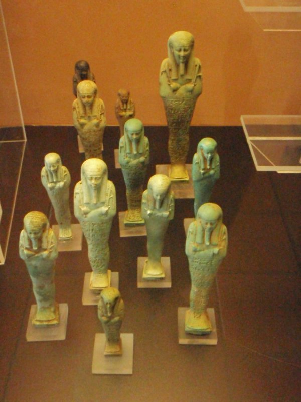 Ushtabi figurines, Egyptian Collection