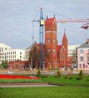 Minsk: Catholic chirch (The Red Chirch)