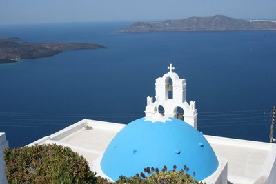 Church on Santorini Greece