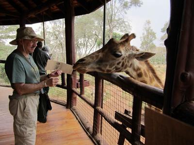 02272012 1 Giraffe in Nairobi
