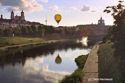 River Neris, Vilnius