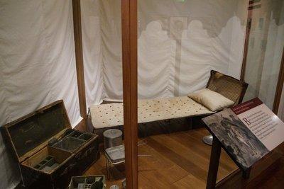 George Washington's camp gear