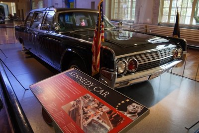 Ford Lincoln Continental in which Kennedy was assassinated in 1963