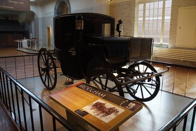 1902 Presidential vehicle - Brougham used Teddy Roosevelt and President Wilson