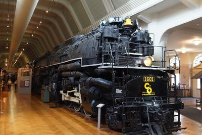 Allegheney Locomotive 1941 -Chesapeake and Ohio Railroad