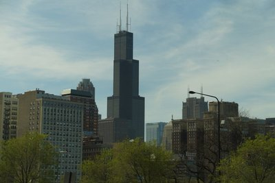 Willis Tower (formerly Sears Tower) tallest building currently in US
