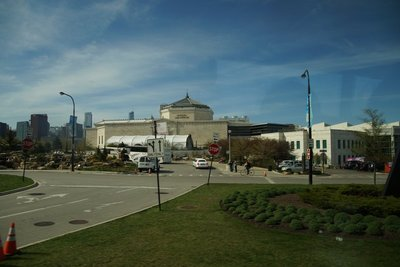 The Shedd Aquarium -one of the oldest public aquariums in the world