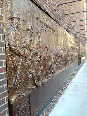 Fire Fighters Memorial Wall