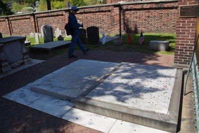 Grave of Benjamin Franklin