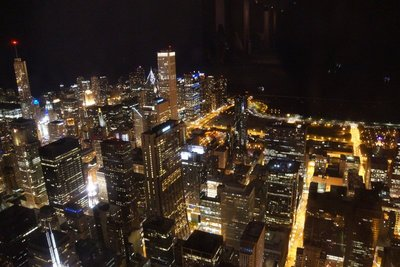 View to East from Willis Tower