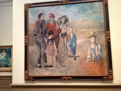 Saltimbanques by Pablo Picasso