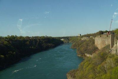 Niagara River downstream of the Niagara Falls