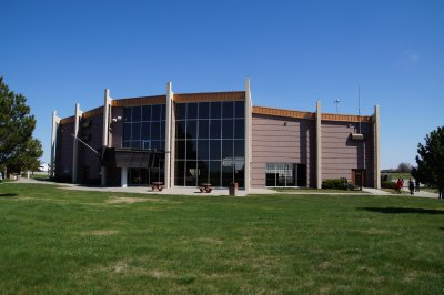 Crow Creek reservation centre