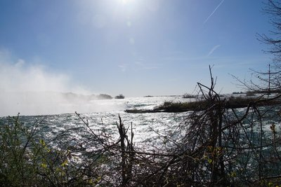 Niagara Falls from Clifton Heights