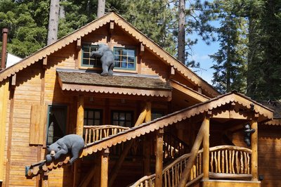 Log Cabin at Sunnyside Resort, Lake Tahoe, California